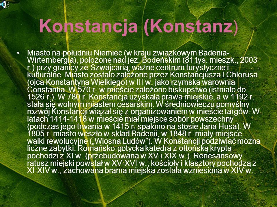 Konstancja (Konstanz)