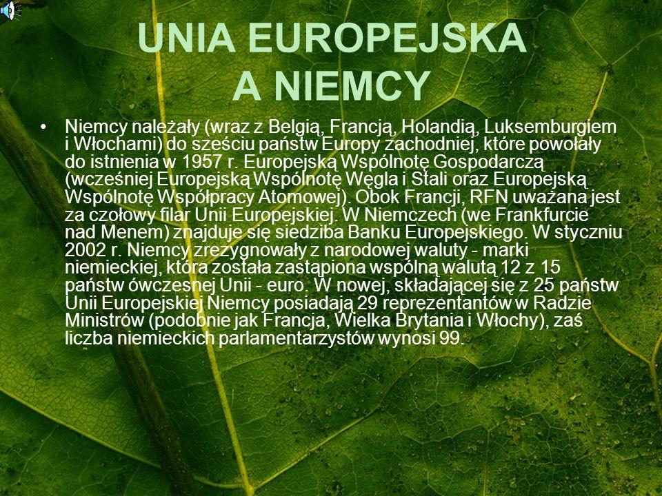 UNIA EUROPEJSKA A NIEMCY