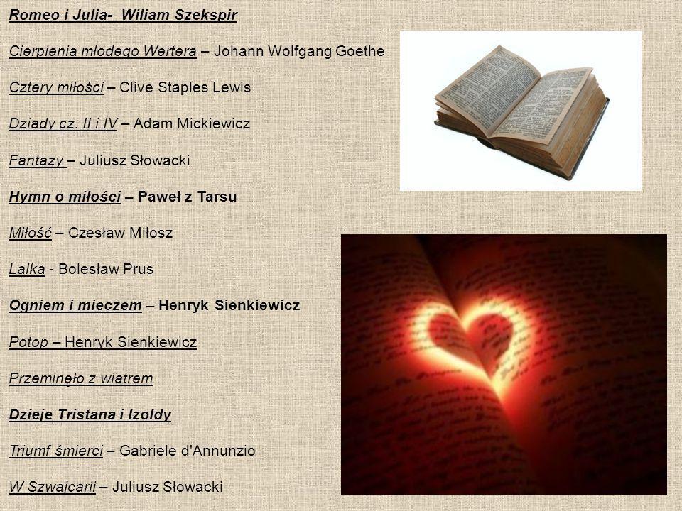 Romeo i Julia- Wiliam Szekspir
