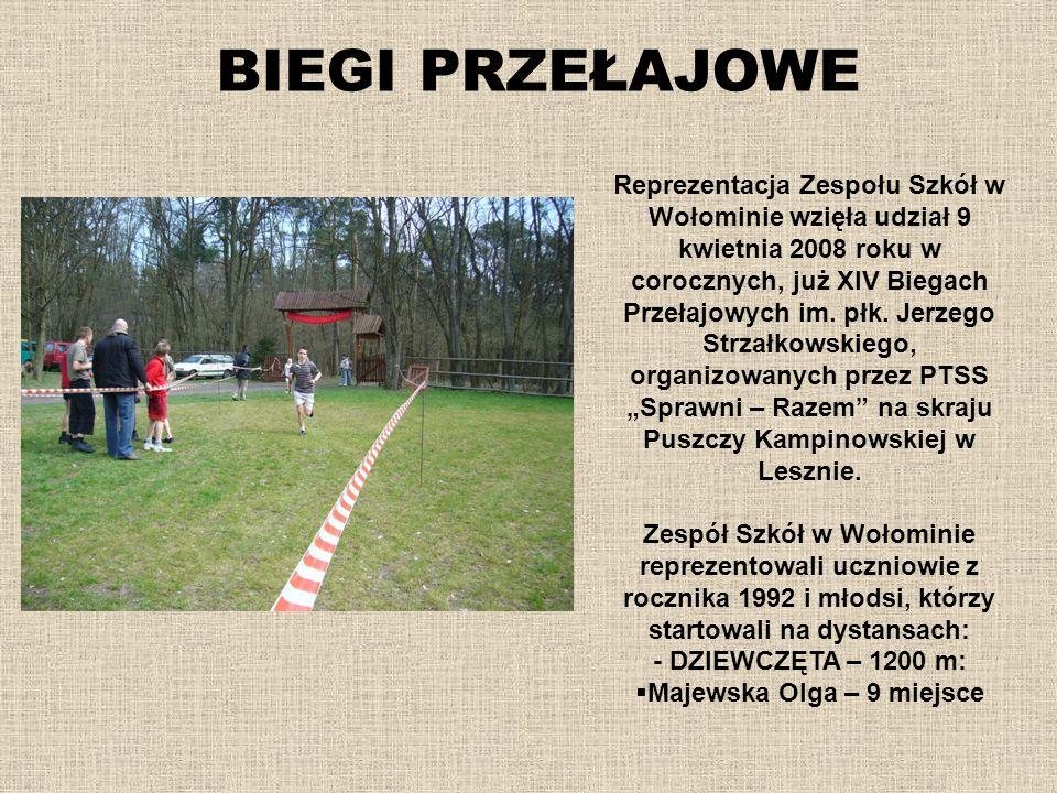 Majewska Olga – 9 miejsce
