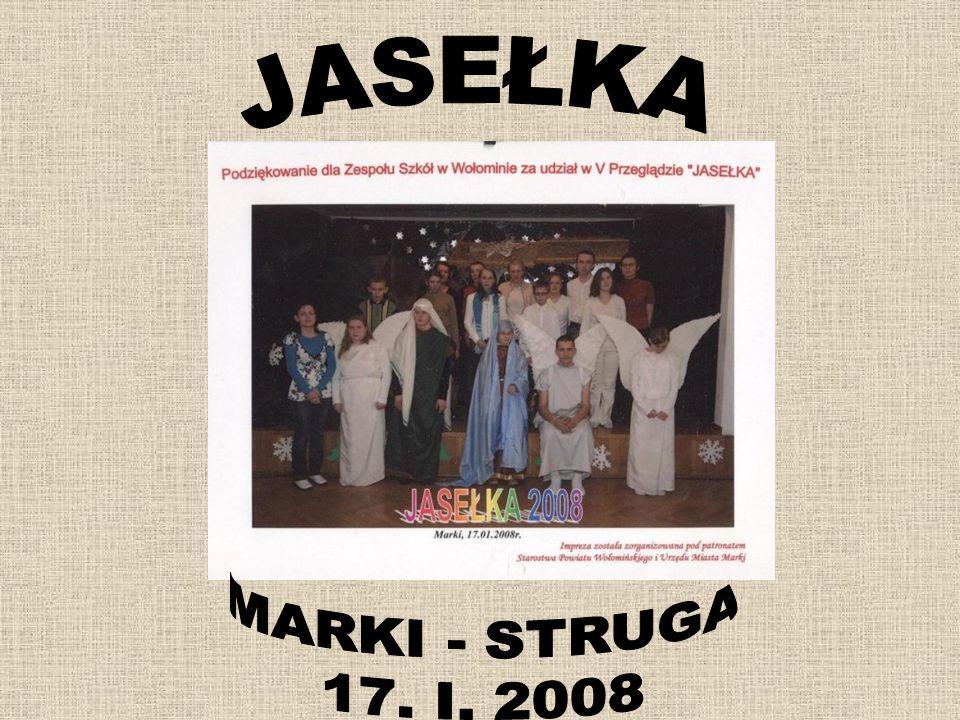JASEŁKA MARKI - STRUGA 17. I. 2008