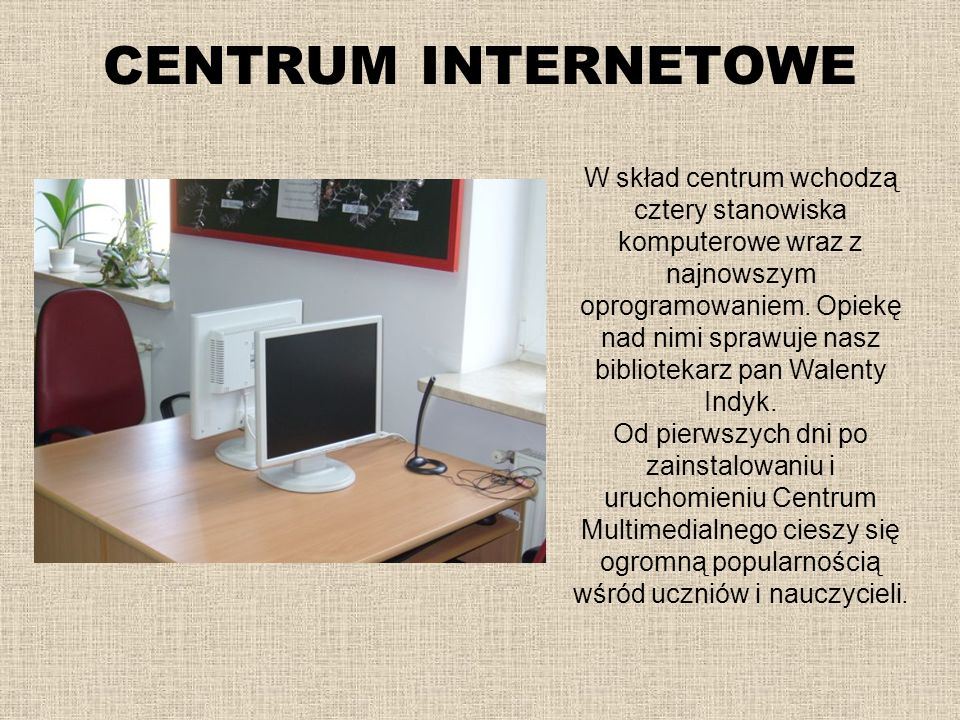 CENTRUM INTERNETOWE