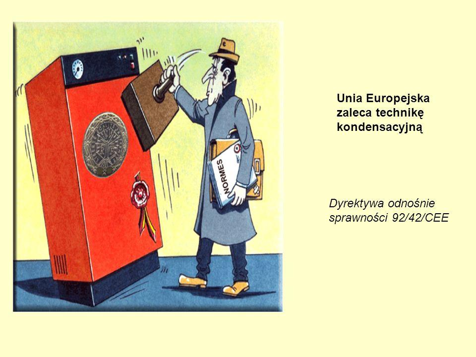 Unia Europejska zaleca technikę kondensacyjną