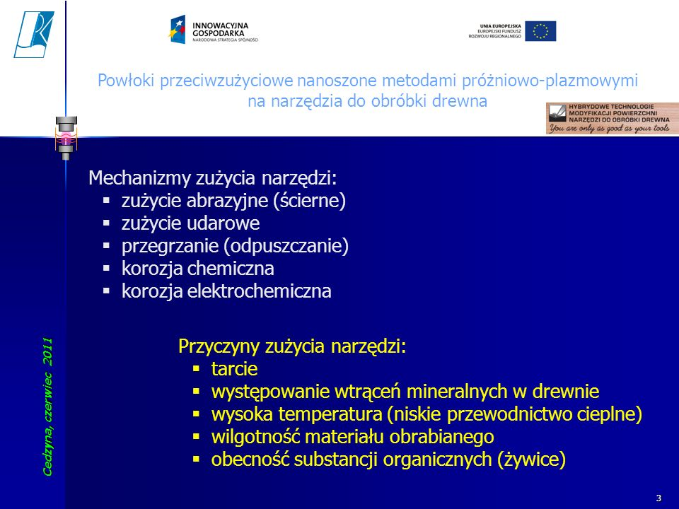 Mechanizmy zużycia narzędzi: zużycie abrazyjne (ścierne)