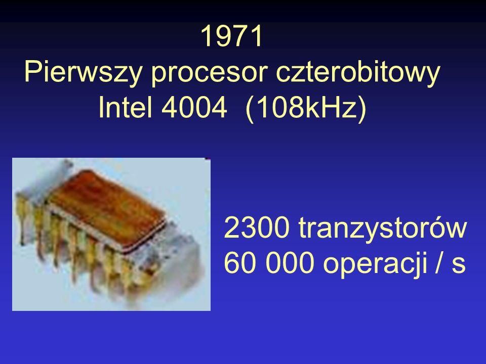 Pierwszy procesor czterobitowy