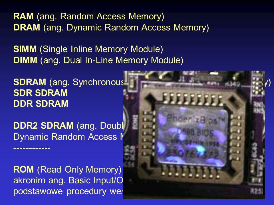 RAM (ang. Random Access Memory)