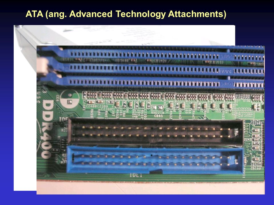ATA (ang. Advanced Technology Attachments)