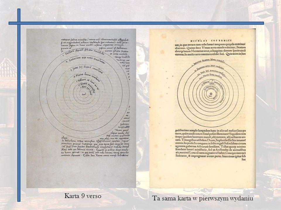 Karta 9 verso Ta sama karta w pierwszym wydaniu