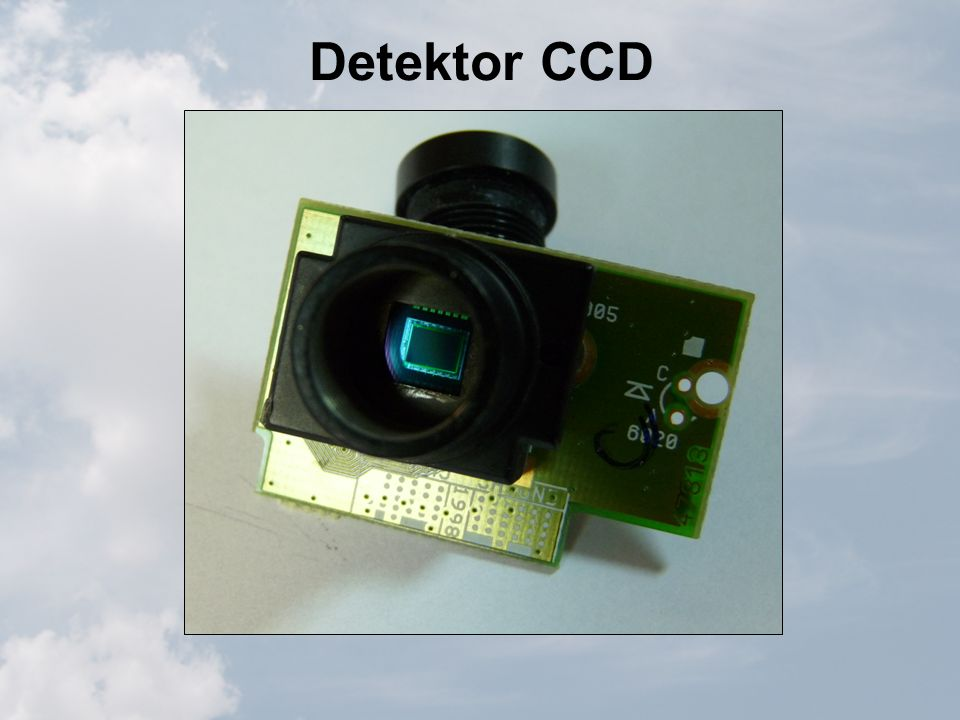 Detektor CCD