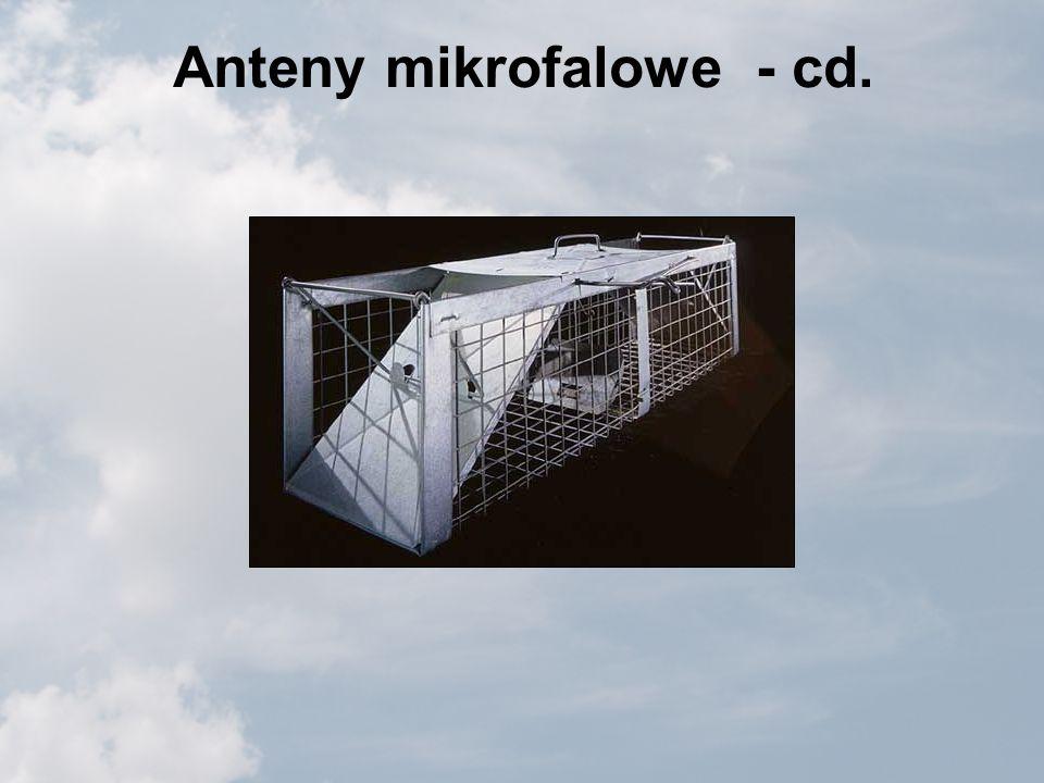 Anteny mikrofalowe - cd.