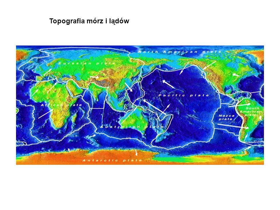Topografia mórz i lądów