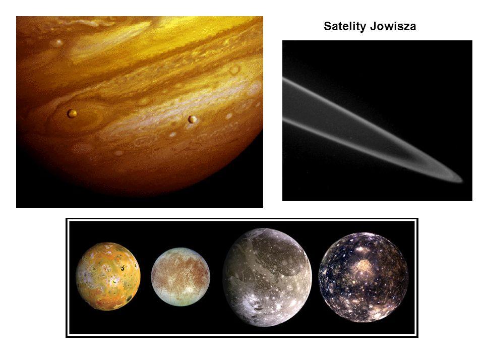 Satelity Jowisza Io, Europa, Ganimed, Calisto