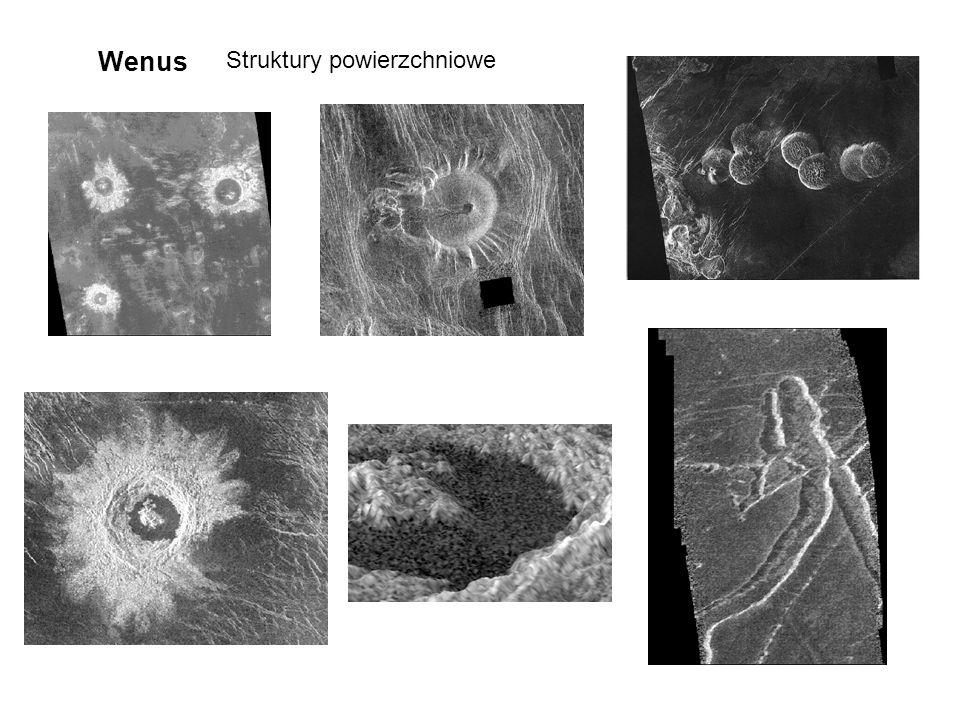 Wenus Struktury powierzchniowe