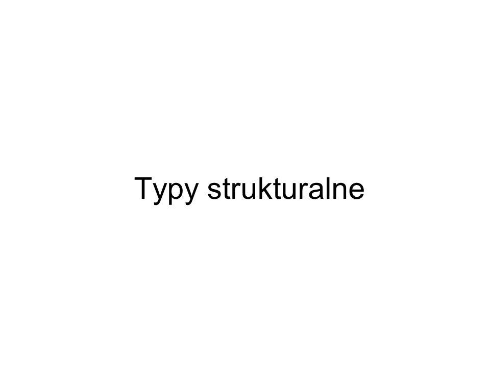 Typy strukturalne