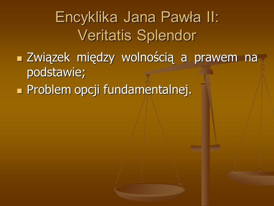 Encyklika Jana Pawła II: Veritatis Splendor