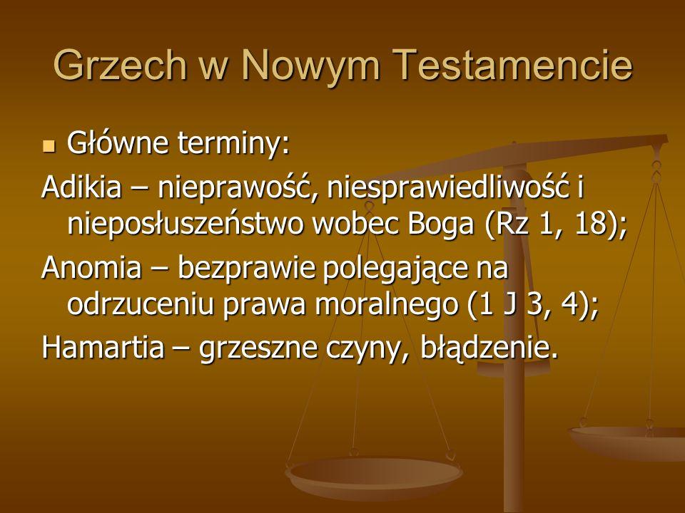 Grzech w Nowym Testamencie
