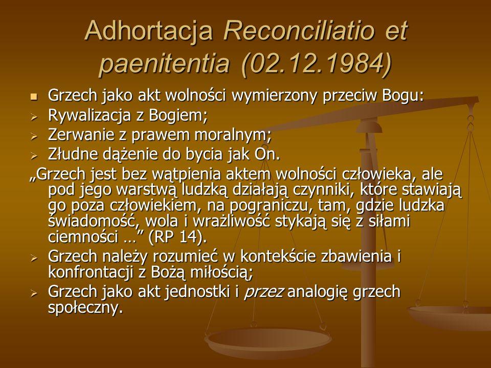 Adhortacja Reconciliatio et paenitentia (02.12.1984)