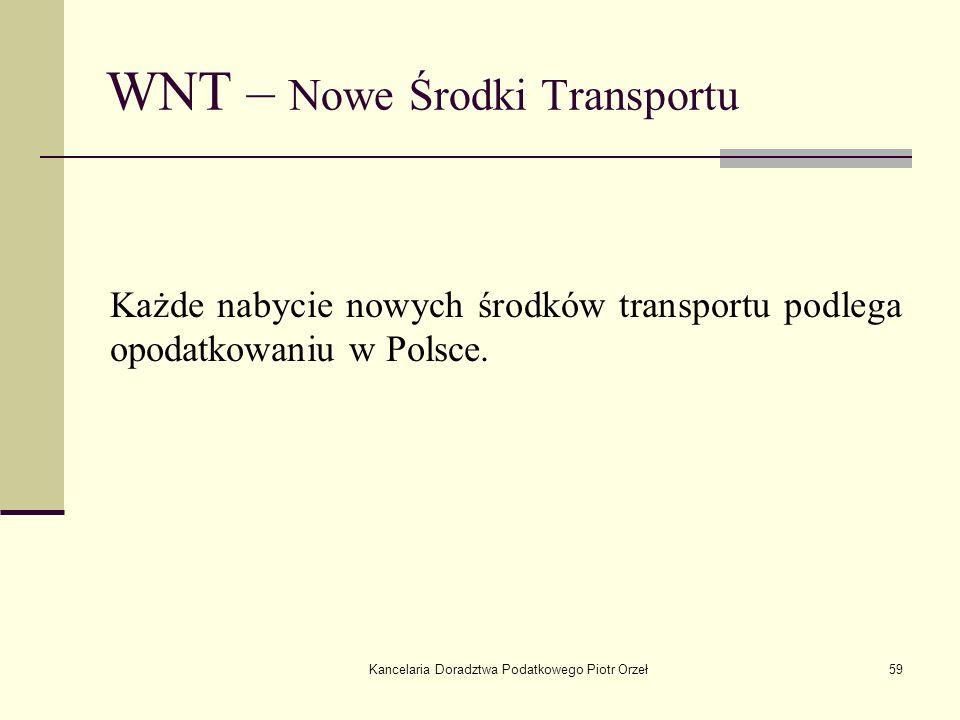 WNT – Nowe Środki Transportu
