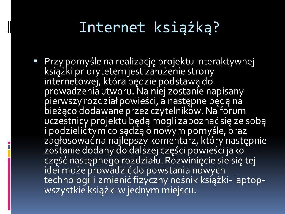 Internet książką
