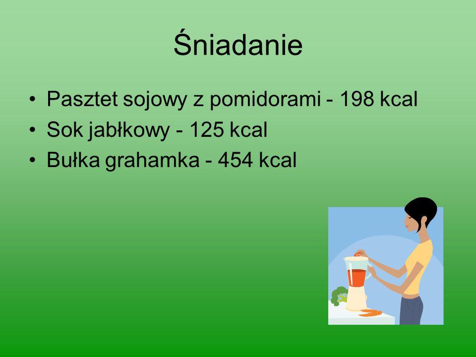 Śniadanie Pasztet sojowy z pomidorami - 198 kcal