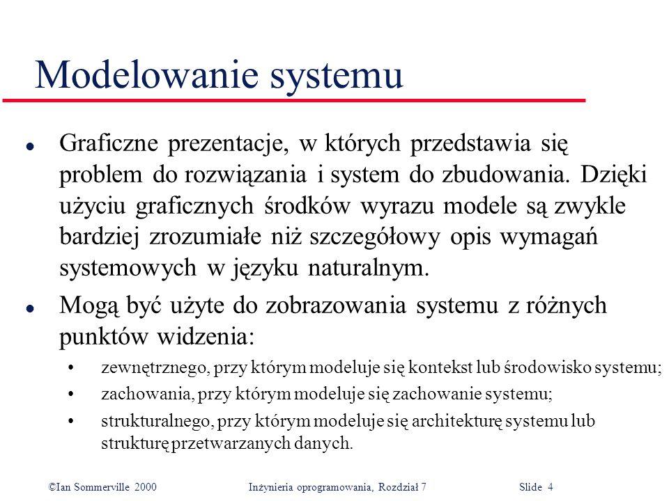 Modelowanie systemu