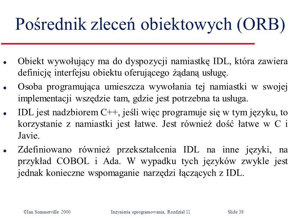 Pośrednik zleceń obiektowych (ORB)