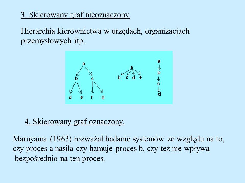 3. Skierowany graf nieoznaczony.