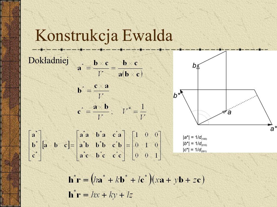 Konstrukcja Ewalda Dokładniej
