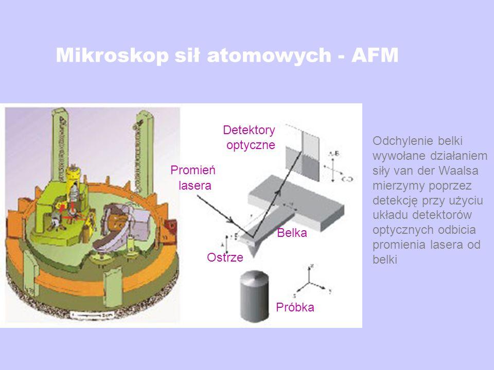 Mikroskop sił atomowych - AFM