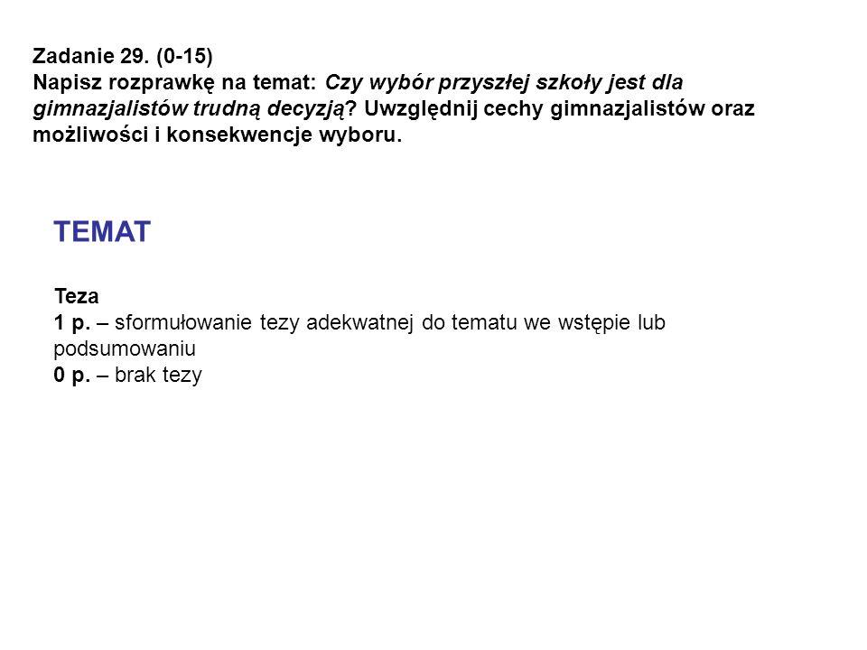 Zadanie 29. (0-15)