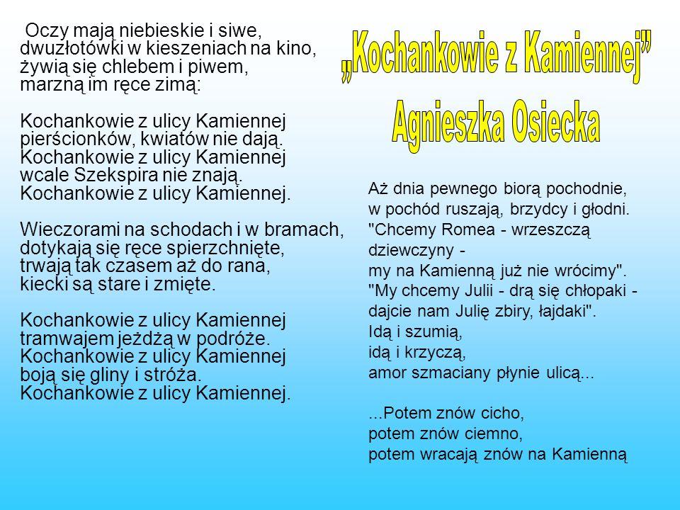 """""""Kochankowie z Kamiennej"""