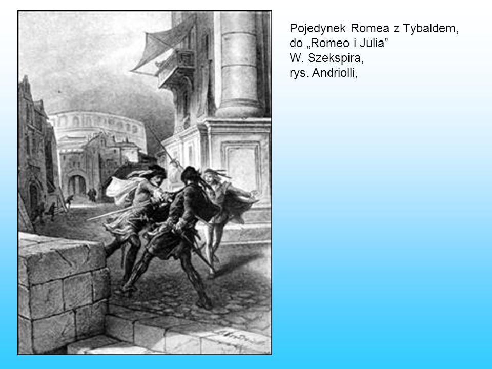 Pojedynek Romea z Tybaldem,