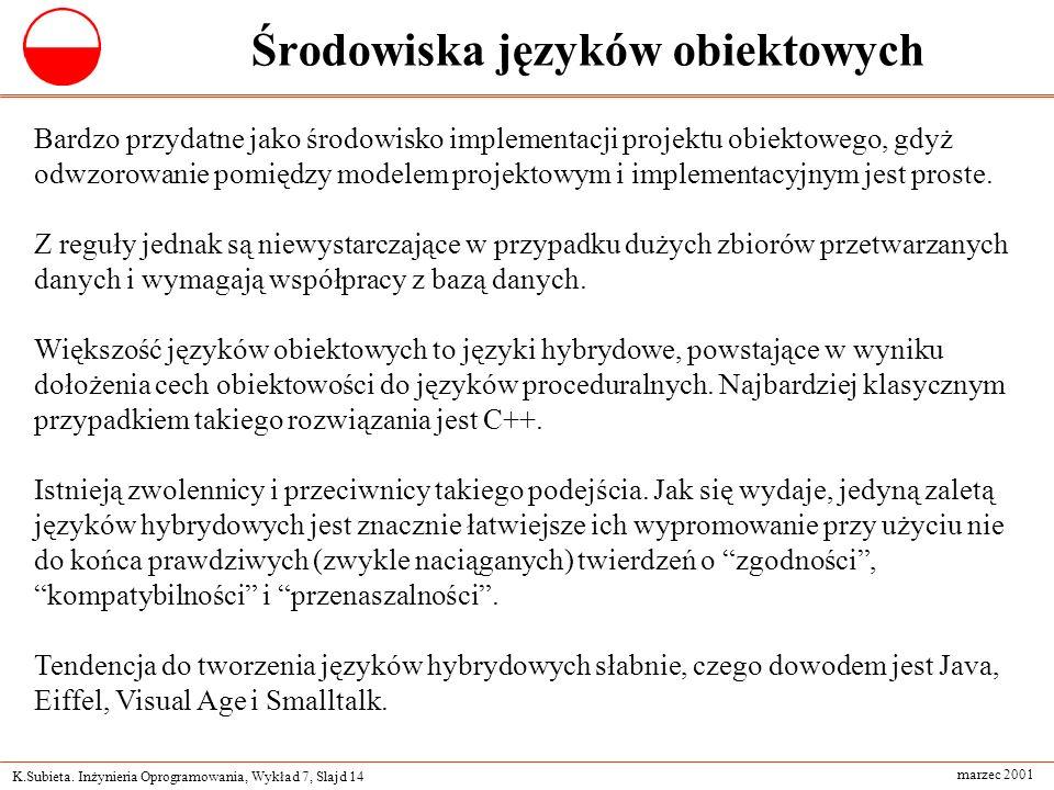 Środowiska języków obiektowych