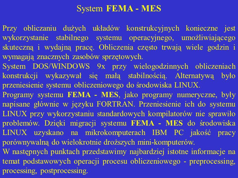 System FEMA - MES