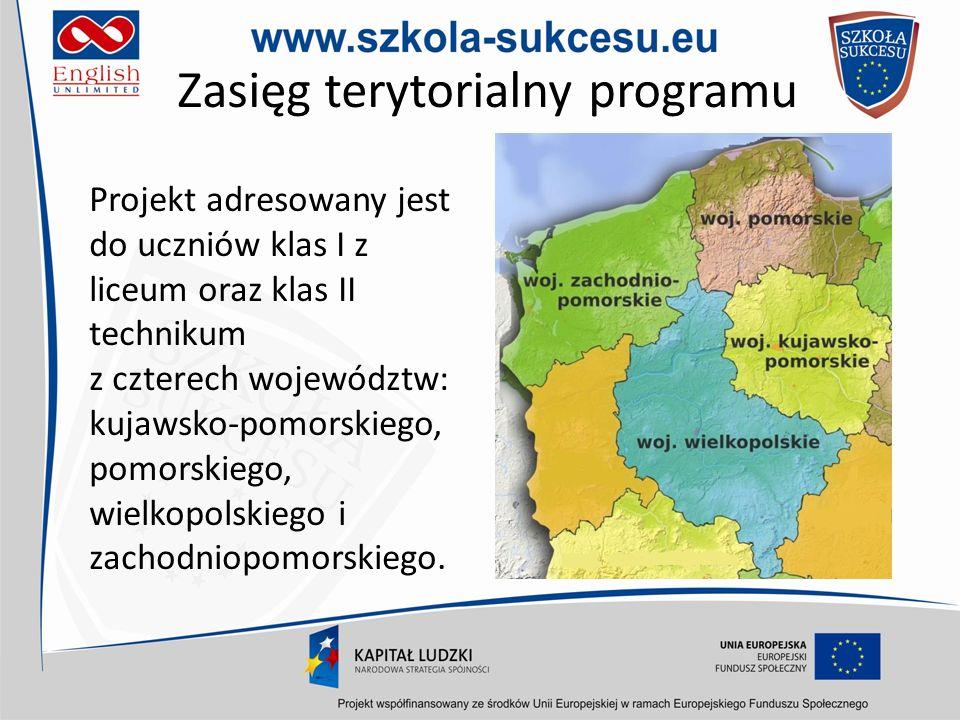 Zasięg terytorialny programu
