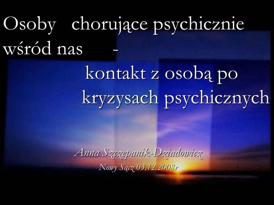 Anna Szczepanik-Dziadowicz Nowy Sącz 03.12.2008r