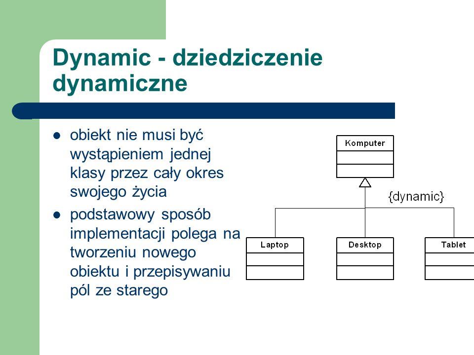 Dynamic - dziedziczenie dynamiczne