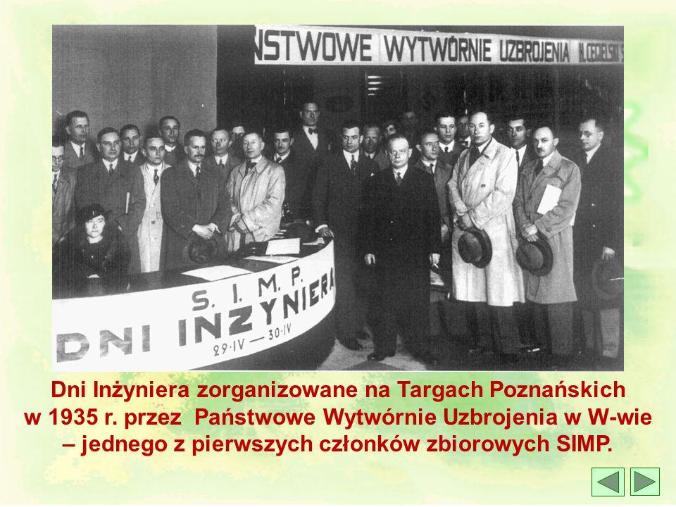 Dni Inżyniera zorganizowane na Targach Poznańskich w 1935 r