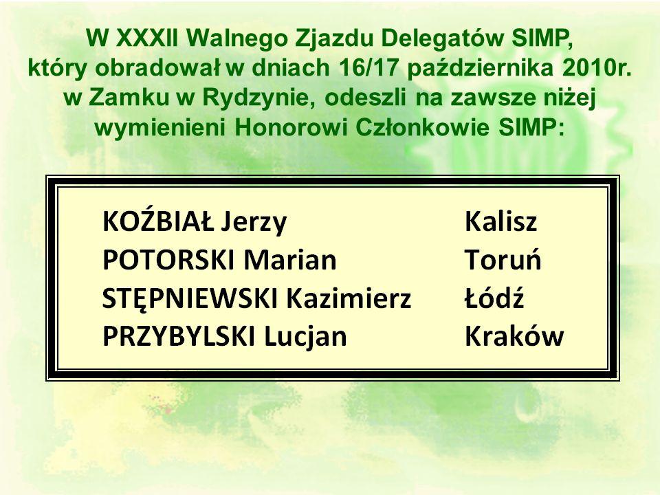 W XXXII Walnego Zjazdu Delegatów SIMP,