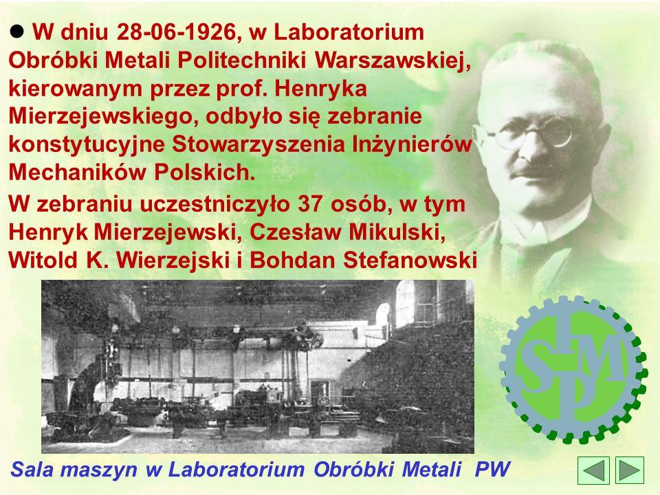 Sala maszyn w Laboratorium Obróbki Metali PW