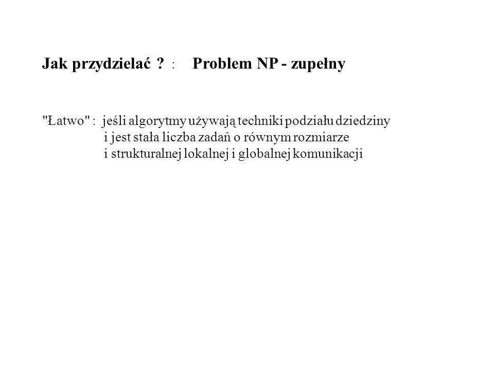 Jak przydzielać : Problem NP - zupełny