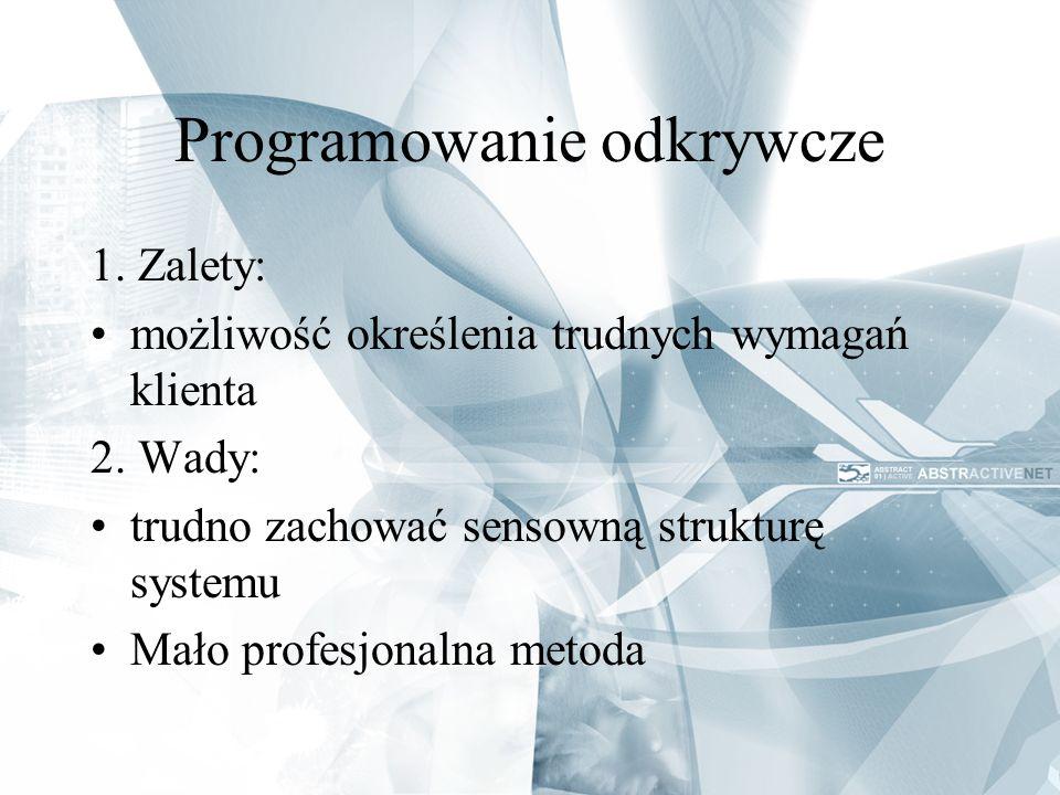 Programowanie odkrywcze