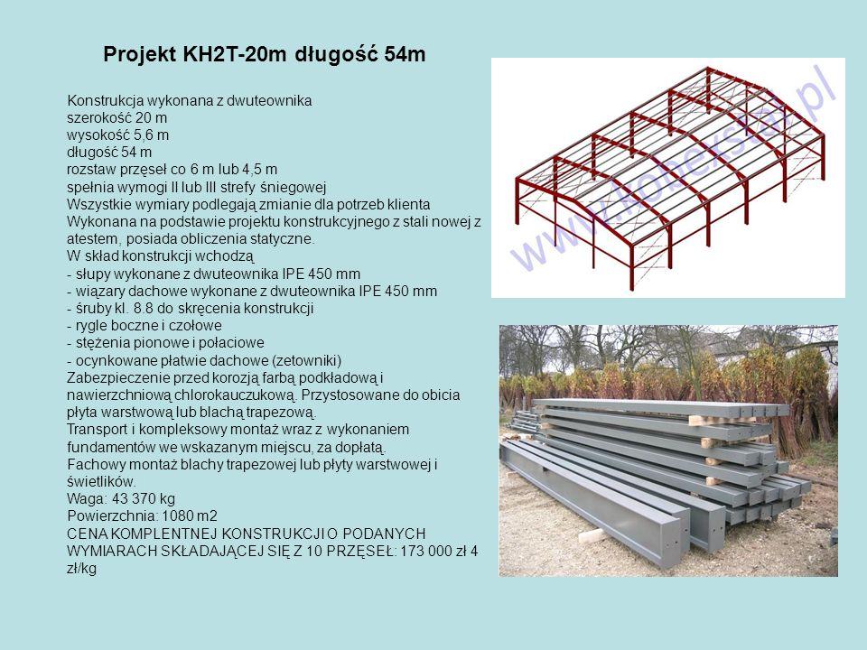 Projekt KH2T-20m długość 54m