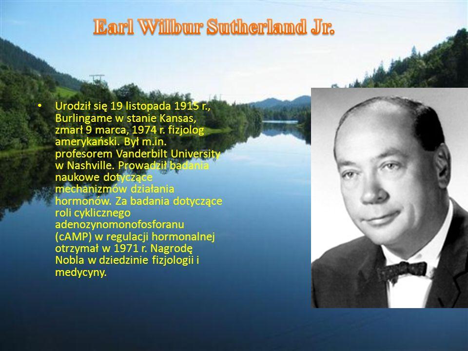 Earl Wilbur Sutherland Jr.