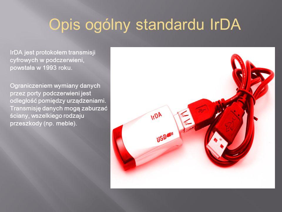 Opis ogólny standardu IrDA
