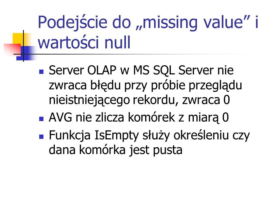 "Podejście do ""missing value i wartości null"