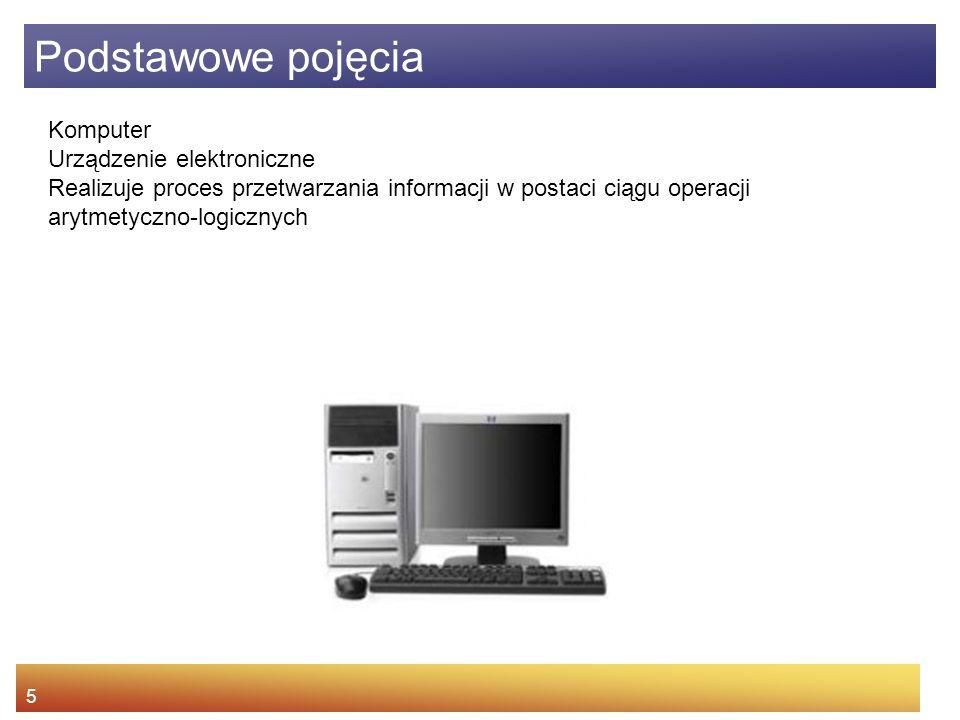 system komputerowy = sprzęt + oprogramowanie