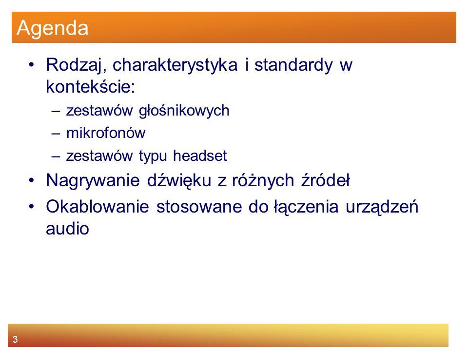 Agenda Rodzaj, charakterystyka i standardy w kontekście: