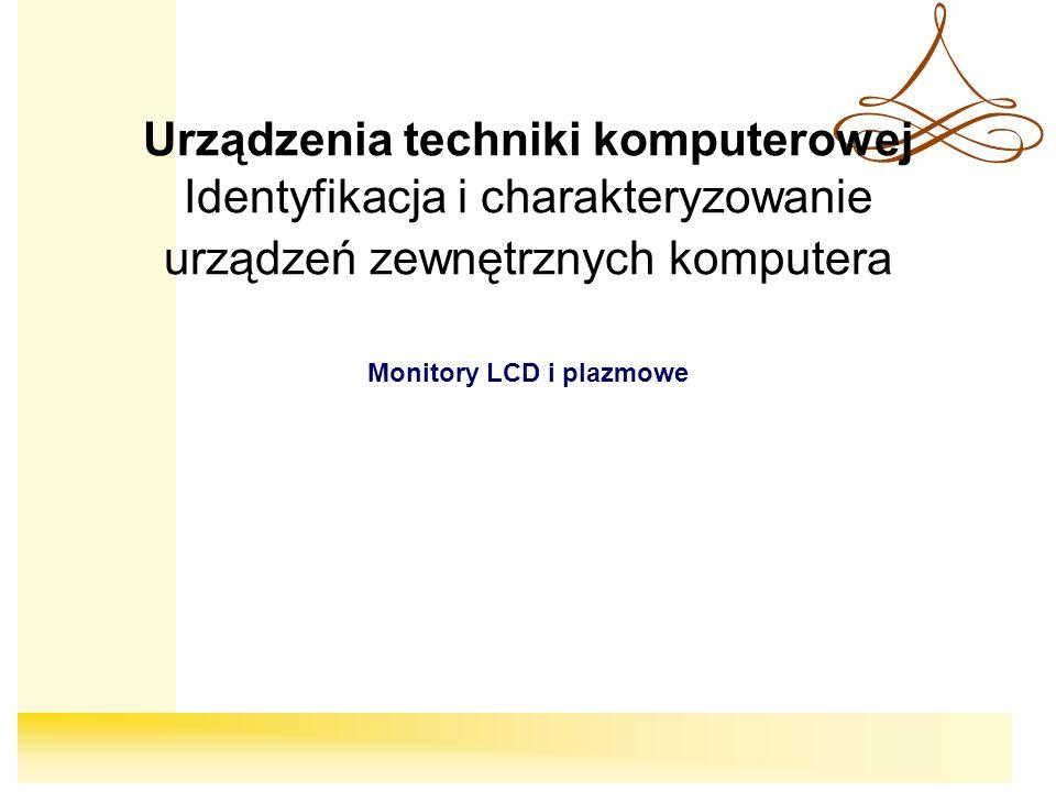 Monitory LCD i plazmowe