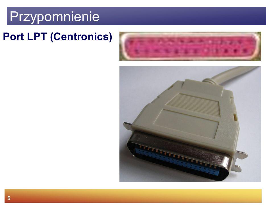 Przypomnienie Port LPT (Centronics)